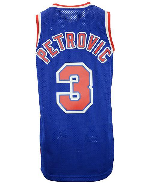 the best attitude 43290 319fa adidas Men's Drazen Petrovic New Jersey Nets Swingman Jersey ...