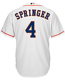 Majestic Men's George Springer Houston Astros Replica Jersey