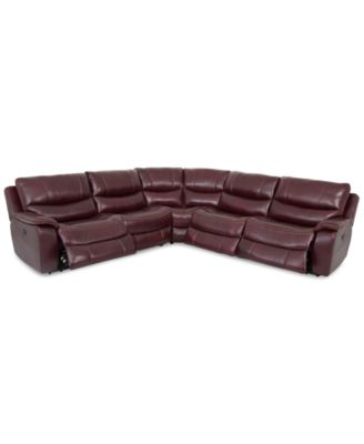 Sectional Couches With Recliners power reclining sectional sofas and couches - macy's