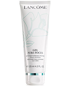 Lancôme Gel Pure Focus Deep Purifying Oily Skin Cleanser, 4.2 fl oz