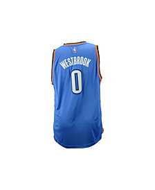adidas Men's Russell Westbrook Oklahoma City Thunder Swingman Jersey