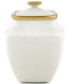 """Lenox Eternal Square Sugar 4.5"""" Bowl"""