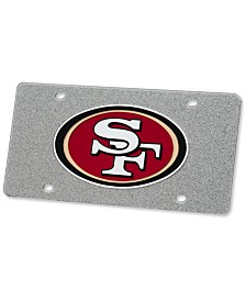 Stockdale San Francisco 49ers Glitter License Plate