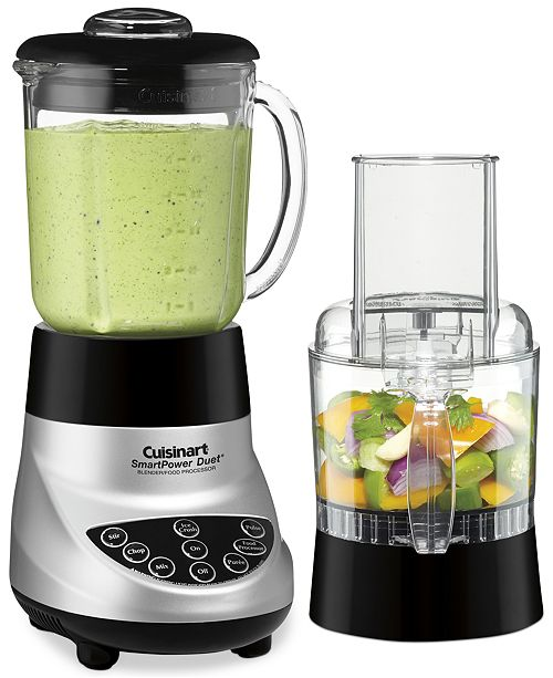 Cuisinart Bfp  Duet Combination Blender And Food Processor
