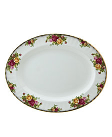 "Royal Albert Old Country Roses 13"" Medium Platter"
