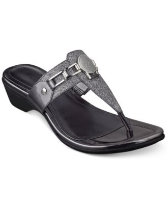 Image of Marc Fisher Amina Thong Sandals