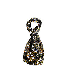 Forever Collectibles Boston Bruins All Over Logo Infinity Scarf