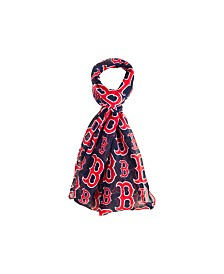 Forever Collectibles Boston Red Sox All Over Logo Infinity Scarf