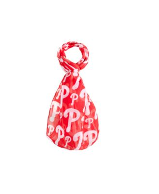 Philadelphia Phillies All Over Logo Infinity Scarf