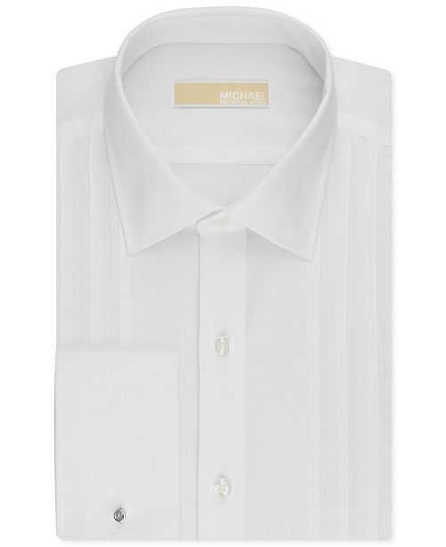 Michael Kors Men's Classic-Fit French Cuff Tuxedo Shirt