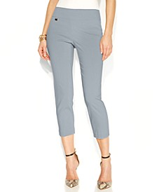 Tummy-Control Pull-On Capri Pants, Created for Macy's