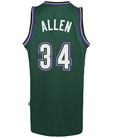 adidas Men's Ray Allen Milwaukee Bucks Swingman Jersey