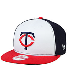 New Era Minnesota Twins 2 Tone Link 9FIFTY Snapback Cap