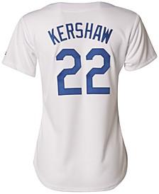 Women's Clayton Kershaw Los Angeles Dodgers Cool Base Jersey