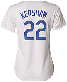 Majestic Women's Clayton Kershaw Los Angeles Dodgers Cool Base Jersey