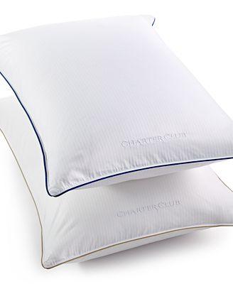 CLOSEOUT! Charter Club Vail Elite European White Down Pillows, Hypoallergenic UltraClean Down, Creat...