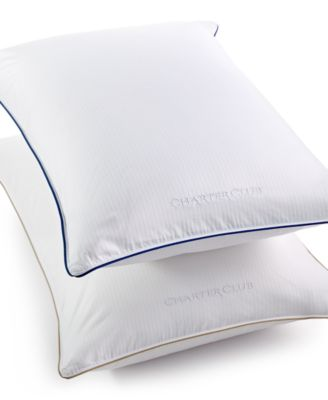 charter club vail elite european white down pillows ultraclean down created for macyu0027s pillows bed u0026 bath macyu0027s