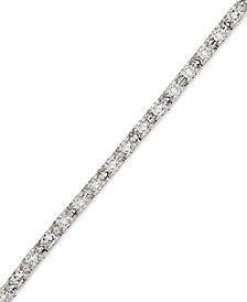 Diamond Tennis Bracelet in 14k White Gold (1/2 ct. t.w.)