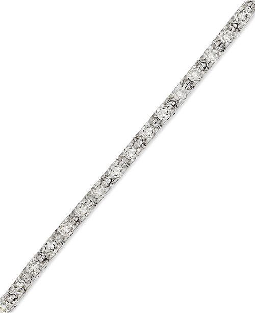 Macy S Diamond Tennis Bracelet In 14k