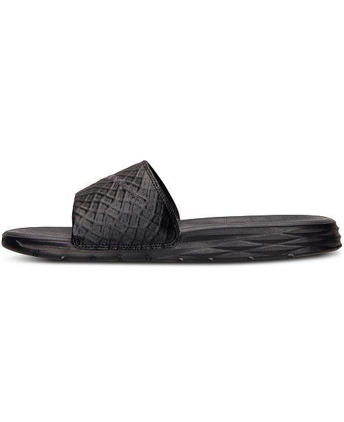 fa9a3b3d69e12 Nike Men s Benassi Solarsoft Slide 2 Sandals from Finish Line ...