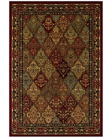 CLOSEOUT! St. Charles WB38 Red Area Rug