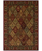 CLOSEOUT! Dalyn St. Charles WB38 Red Area Rug