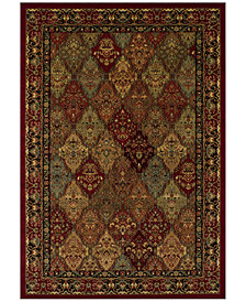 "CLOSEOUT! Dalyn St. Charles WB38 Red 9'6"" x 13'2"" Area Rug"