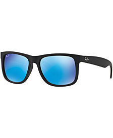 Ray-Ban JUSTIN MIRRORED Sunglasses, RB4165 54