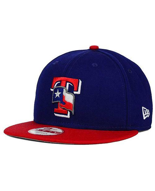 New Era Texas Rangers 2 Tone Link 9FIFTY Snapback Cap