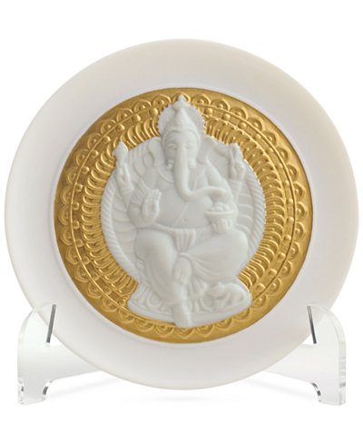 Lladro Lord Ganesha Plate