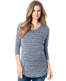A Pea In The Pod Maternity Heather Tunic Sweater