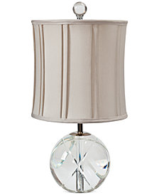 CLOSEOUT! Regina Andrew Mini Cut Crystal Sphere Table Lamp