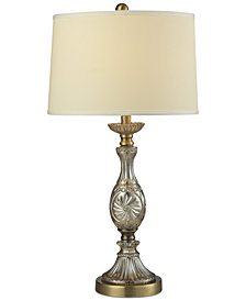 Dale Tiffany Golden Crystal Table Lamp