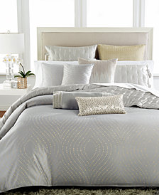 Hotel Collection Finest Silver Leaf Full/Queen Duvet Cover