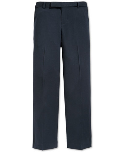 Calvin Klein Bi-Stretch Suiting Pants, Big Boys Husky
