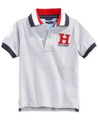 Image of Tommy Hilfiger Little Boys' Matt Polo, Toddler and Little Boys' (2T-7)