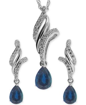 Sapphire (1-1/10 ct....