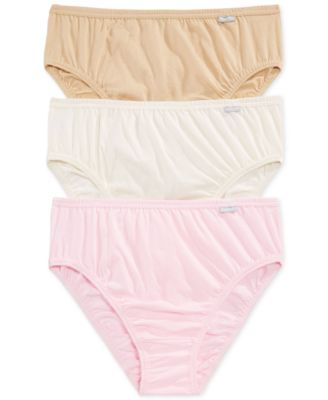Image of Jockey Plus Size Elance French Cut Brief 3 Pack 1485