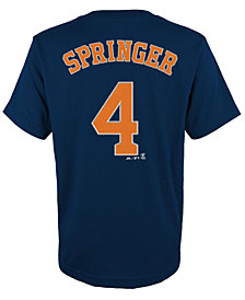 Majestic Kids' George Springer Houston Astros Player T-Shirt