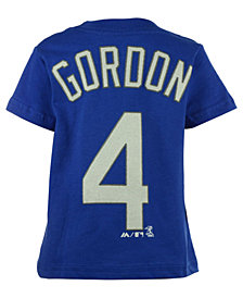 Majestic Toddlers' Alex Gordon Kansas City Royals Player T-Shirt