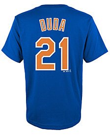Majestic Kids' Lucas Duda New York Mets Player T-Shirt
