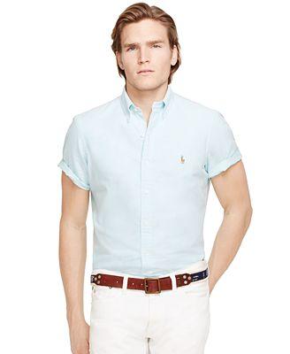 Polo ralph lauren men 39 s oxford shirt casual button down for Polo ralph lauren casual button down shirts