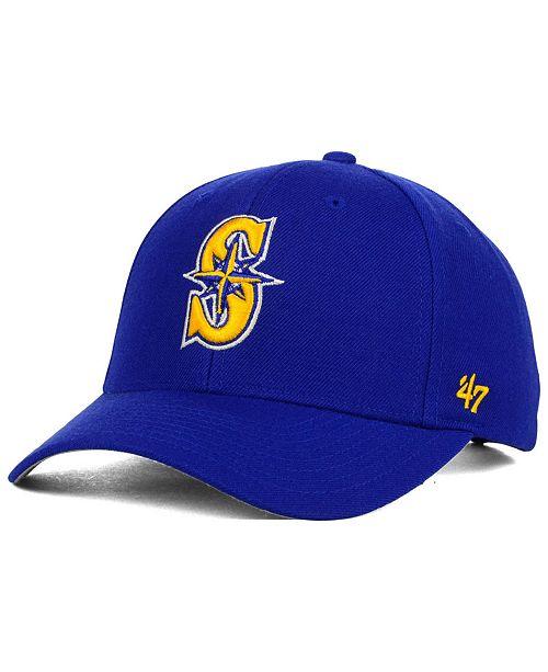 '47 Brand Seattle Mariners MVP Curved Cap