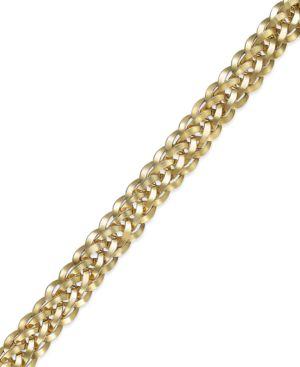 Woven Bracelet in 14k Gold