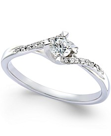 Diamond Promise Ring (1/5 ct. t.w.) in Sterling Silver