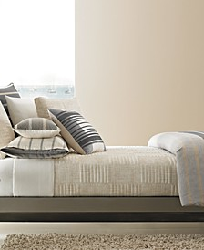 CLOSEOUT! Modern Colonnade Coverlet Collection, Created for Macy's