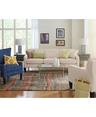 Tricia Fabric Living Room Furniture