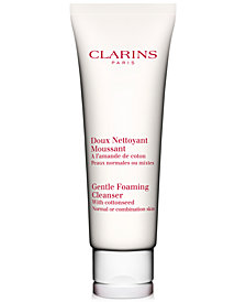 Clarins Gentle Foaming Cleanser With Cottonseed For Normal Or Combination Skin