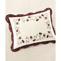 Martha Stewart Collection Cotton Prairie House Standard Sham (Plum)