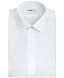 Men's Classic-Fit White Poplin Dress Shirt